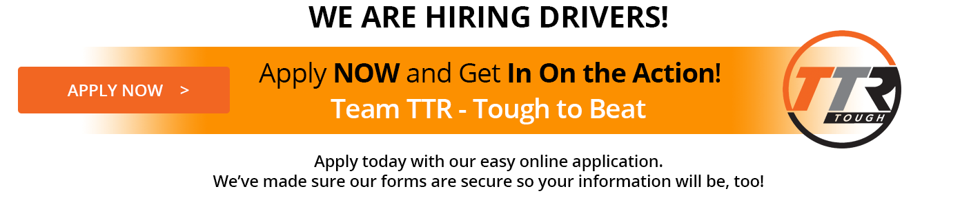 We are hiring drivers for copier shipping